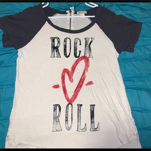 Lucky Brand Rock and Roll T-shirt
